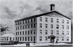 První budova, 1886